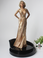 Hot 1/4 Scale 40cm Sexy Marilyn Monroe Collectors Action Sexy model Figure Toys Christmas Gift Doll In Retail Box
