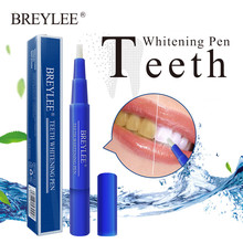 BREYLEE Teeth Whitening Pen Tooth Remove Stains Oral Hygiene Essence Care Dental Tools Bleaching Kit