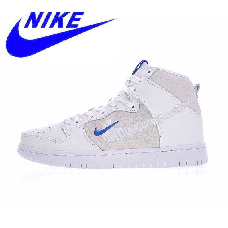 the best attitude 36450 82d2d Original Nike Soulland X Nike Dunk SB Men Skateboarding Shoes,Double Hook White  Men s Outdoor Sports Sneakers Shoes AH9613-141
