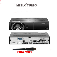 5pcs 2018 Newest MEELO TURBO DVB-S2/T2/C Satellite TV Receiver 1080P FULL HD Linux OS 4K Set top box MEELO BCM 73625