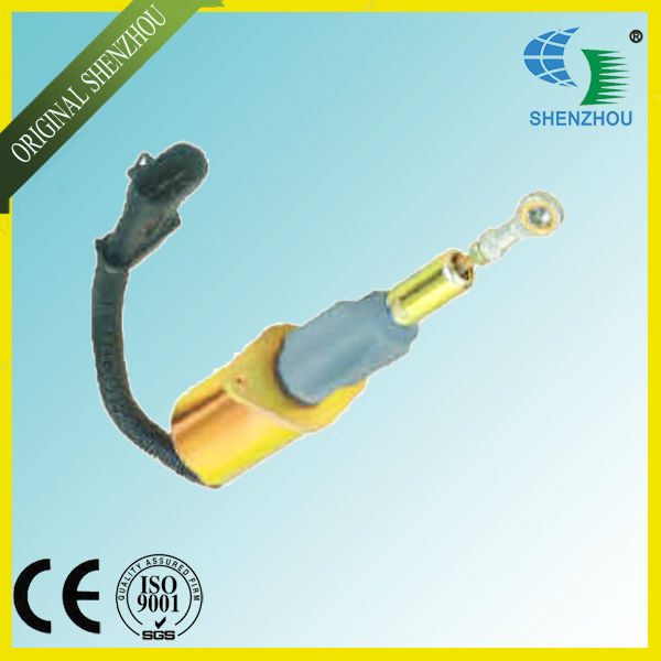 Free Shipping Fuel Shutdown Solenoid Valve 3939019 SA-4889-24 24V fuel shutdown solenoid valve 3932529 sa 4756 12 for engine 4b 6b 3pcs a lot fast free shipping by fedex dhl