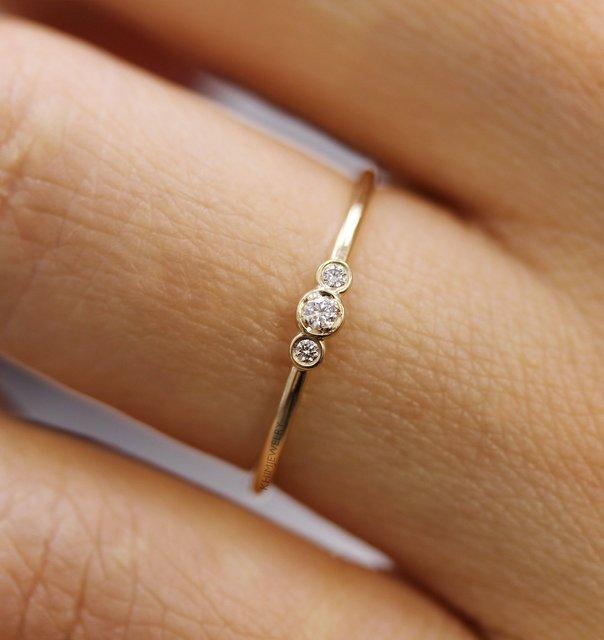 Богемные Милые простые циркониевые кольца в стиле бохо для женщин