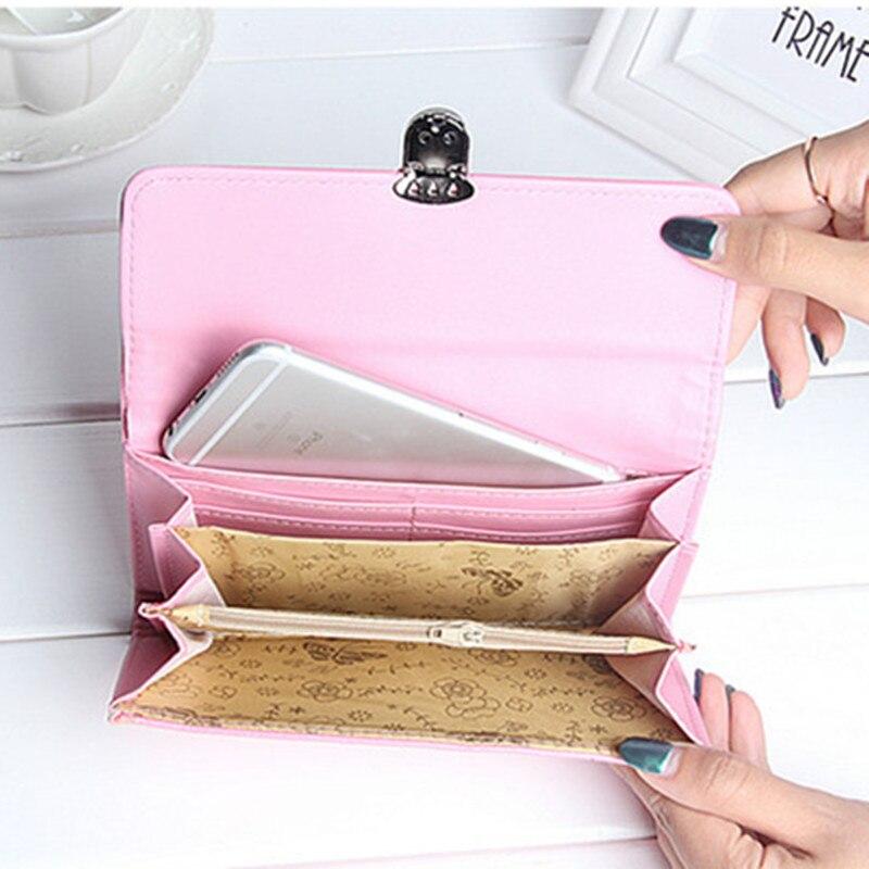 bolsa de cartão de mulheres Estilo : Handbag, Ladies Wallet, Long Wallet