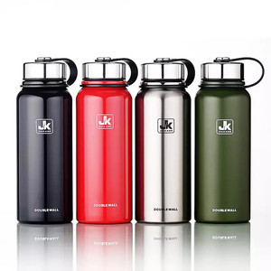 Image 1 - 600/800/1100/1500ml Double Wall Thermos Cup Stainless Steel Vacuum Flask Insulation Bottle For Water Bottles Sports Shaker Mug