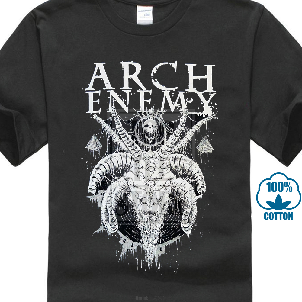 Arch Enemy Horned Goat   Shirt   S M L Xl Xxl Officl Death Metal   T     Shirt   Band Tshirt