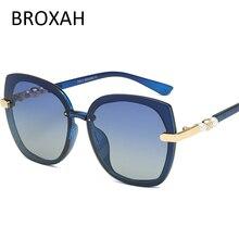 Fashion Ladies Shade 2019 Brand Design Polarized Sunglasses Women Driving Sun Glasses Female Gradient Oculos Feminino