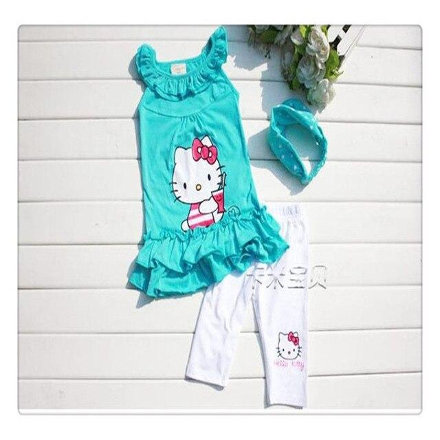 חליפות ילדים סטי סרט + שמלה + מכנסיים יסט 3 חלדים - משלוח חינם 3