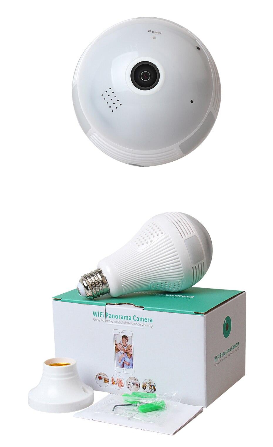 HTB1YwSrmRjTBKNjSZFuq6z0HFXaC Loosafe 960P 360 Security Wifi Camera Lamp Panoramic Camera Wifi IP Camera Fisheye Panoramic Surveillance Home Security IPCamera