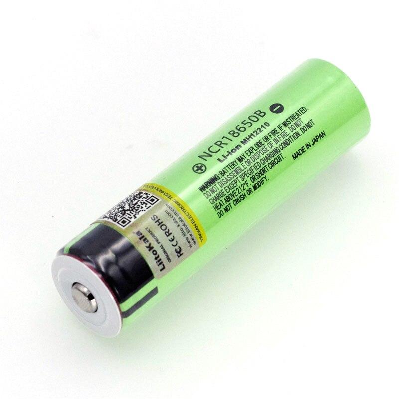 Image 5 - Liitokala Новый NCR18650B 3,7 v 3400 mAh 18650 литиевая аккумуляторная батарея с острым (без PCB) батареи-in Подзаряжаемые батареи from Бытовая электроника