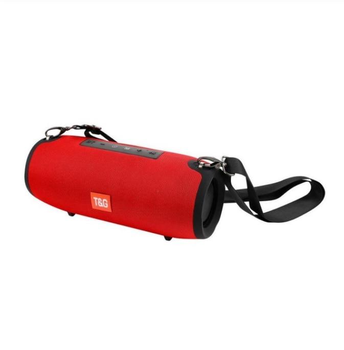 TG118 tissu art extérieur grand haut-parleur Bluetooth haut-parleur étanche stéréo caissons de basses Soundbox. Gros tambours de guerre haut-parleur Bluetooth - 3