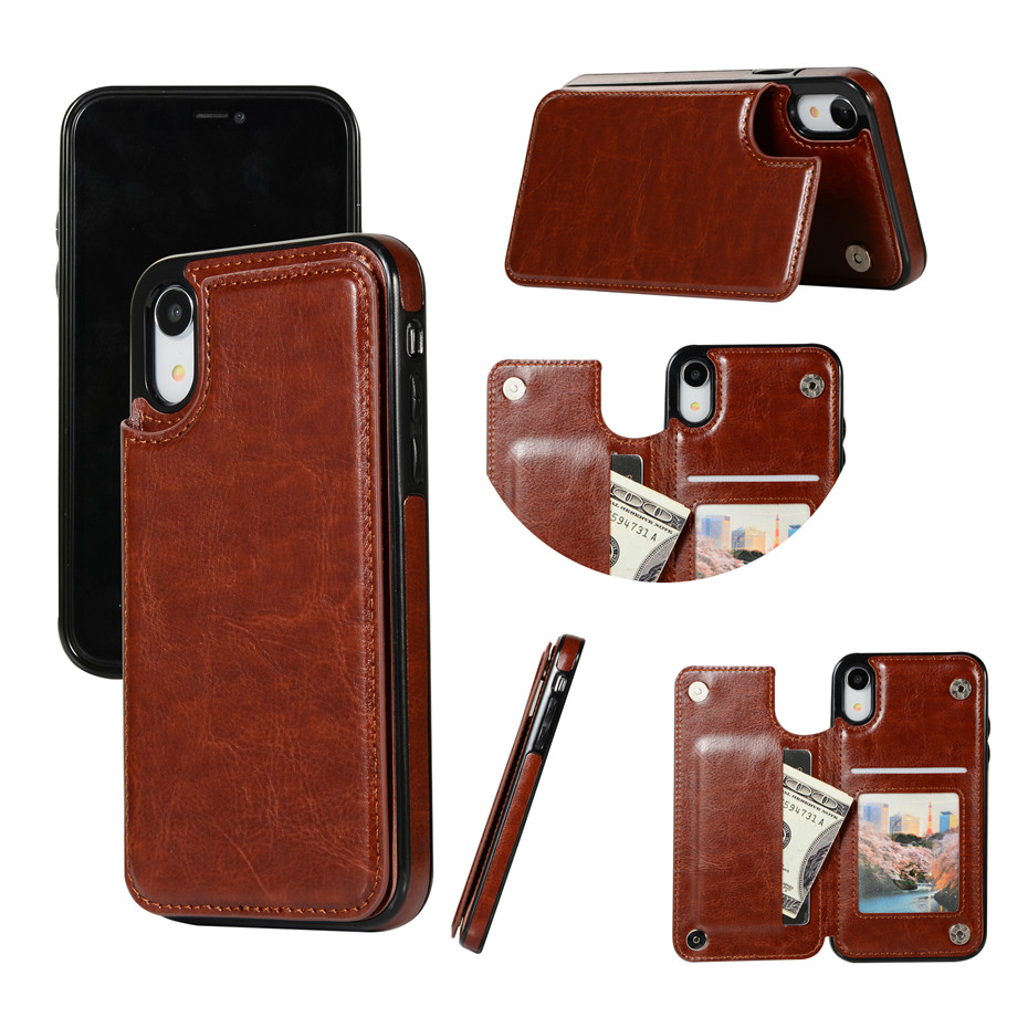 HTB1YwU5SCzqK1RjSZFjq6zlCFXaJ Luxury Slim Fit Premium Leather Cover For iPhone 11 Pro XR XS Max 6 6s 7 8 Plus 5S Wallet Case Card Slots Shockproof Flip Shell