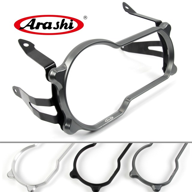 Arashi 1Piece Motorcycle Headlight Guard Protector Lense Cover For BMW R1200GS R 1200GS 1200 GS 2013 2014 2015 2016 2017 2018