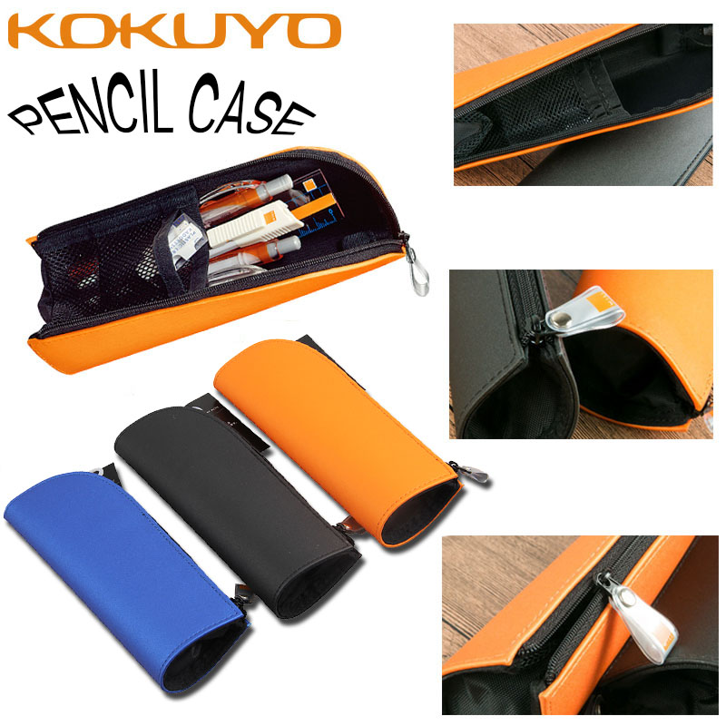 KUKUYO Pencil Cases For Girls Boy Japan Capacity Pencil PU Roll Up School Cute Zipper Pencil Bag Box Kawaii For School Supplies new arrival office school supplies pencil box wood pencil cases unique design wooden pencil cases b034