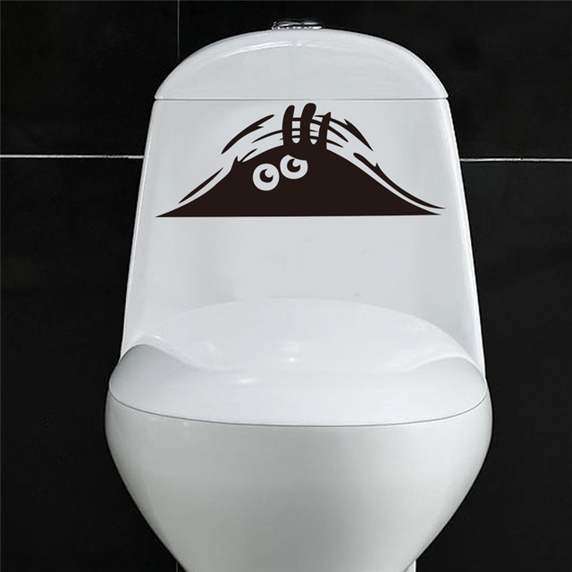 Aliexpresscom Buy Peeping Eyes Toilet Stickers Home Decoration - Vinyl stickers designaliexpresscombuy eyes new design vinyl wall stickers eye wall