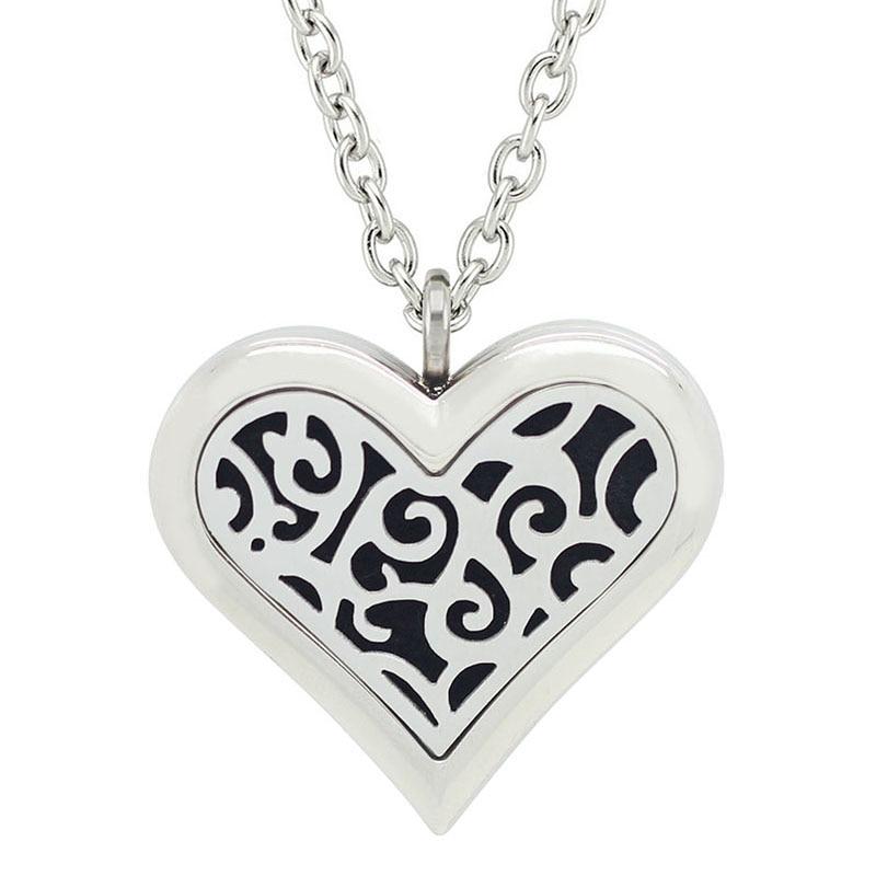 Besplatno s lancem kao poklon! Vruća ogrlica od 35 mm velikog srca - Modni nakit - Foto 3