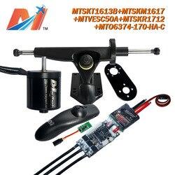 Maytech  2000w brushless motor 6374 170kv and vendors esc and truck mount for power skateboard