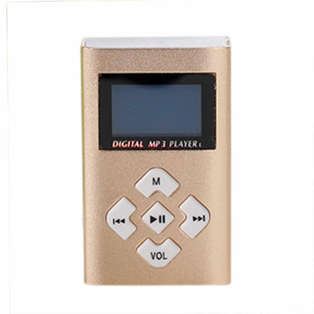 حار بيع USB البسيطة MP3 لاعب LCD حامل شاشة 8 GB مايكرو SD TF بطاقة