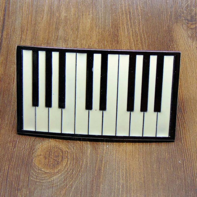 Hight Quality Music Belt Buckle Metal Piano Keys Zinc Alloy Belt Buckle For Men And Women Apparel Accessories