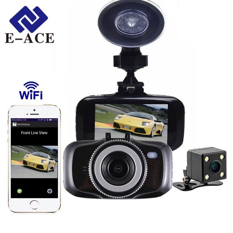 e ace mini car camera dvr wifi dash camera full hd 1080p. Black Bedroom Furniture Sets. Home Design Ideas