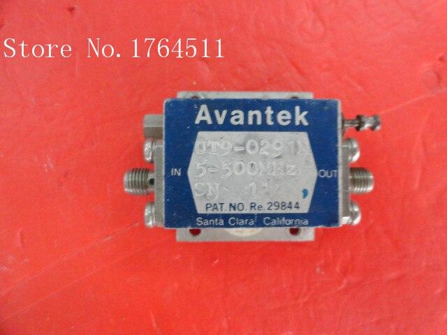 [BELLA] AVANTEK UT9-0291M 5-500MHz Vin:15V SMA Supply Amplifier