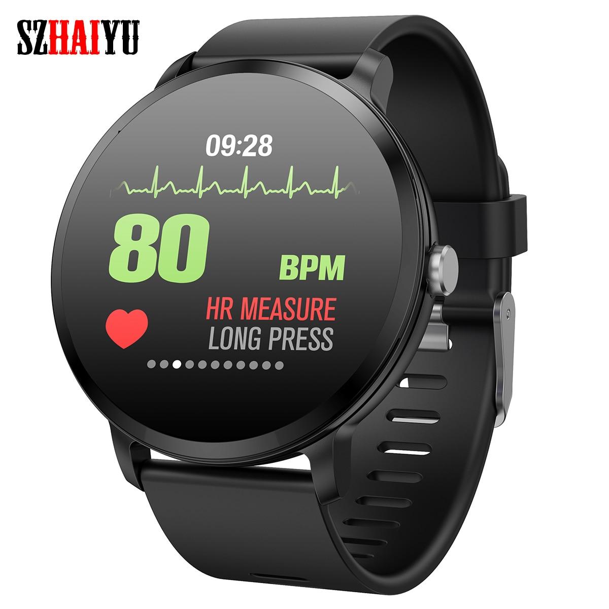 Smart Activity Tracker Szhaiyu Bluetooth Smart Uhr Armband Wasserdicht Aktivität Fitness Tracker Herz Seltene Smart Armband Andriod Ios Wasserdicht Angenehm Zu Schmecken