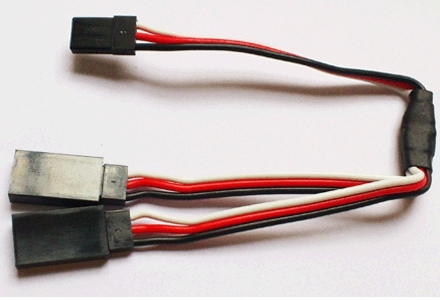 High Quality 30 Core 15cm 30cm 45cm 60cm Servo Y Extension Wire Cable, Futaba JR Plug 10pcs/Lot RC Hobby Accessory