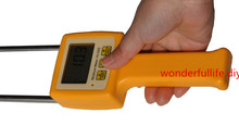 цена на 3 Pcs/Lot Corn,wheat,rice,bean,wheat flour tester 4 Digital LCD Grain moisture meter   range:5-35% hygrometer