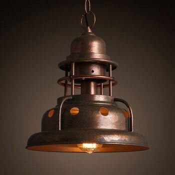 Mặt Dây Chuyền cổ điển Đèn LOFT Đèn Avize Bắc Âu Mặt Dây Đèn Treo Đèn Nhà Chiếu Sáng Công Nghiệp