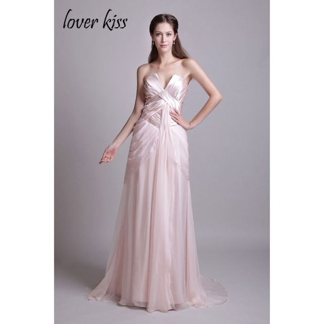 Lover Kiss Cheap Evening Dress Plus Size Formal Dresses New V Neck