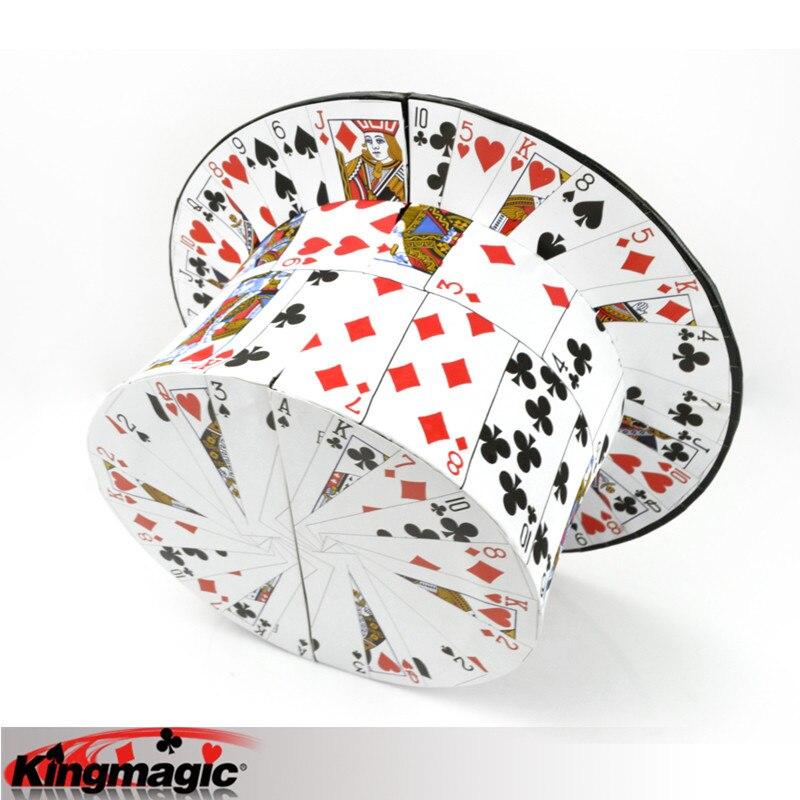 Carte De Top Chapeau Astuces Étape Magiques Jouets Magie Magia