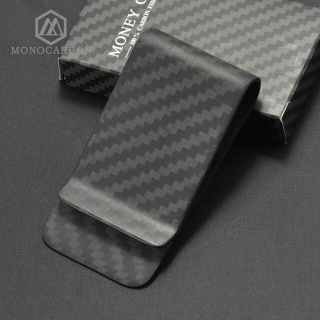 Monocarbon High Class Real 3K Carbon Fiber Money Clips