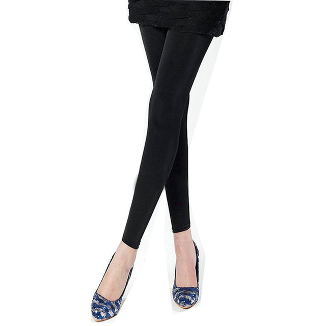 Maternity leggings new pregnant women cozy thin modal pantyhose black care belly leggings for pregnancy clothes 9025/26