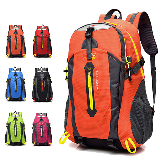666e2a98bdd Hiking Backpack Light Portable Travel Day Pack 40L Camping Backpacks  Outdoor Sport Bags Backpack Waterproof Durable Hiking Bags