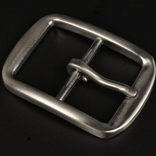 40mm Stainless Steel Belt Pin Buckle for Male Business Trous