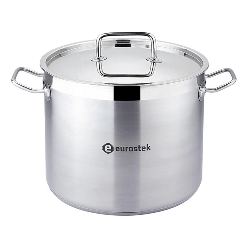 Pot with lid Eurostek ES-1015 ibili 418328 stock pot with lid vital 28 cm