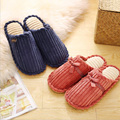 fashion women cotton loafers slippers thermal warm household slipper for woman indoor fur slipper platform pregnant slippers