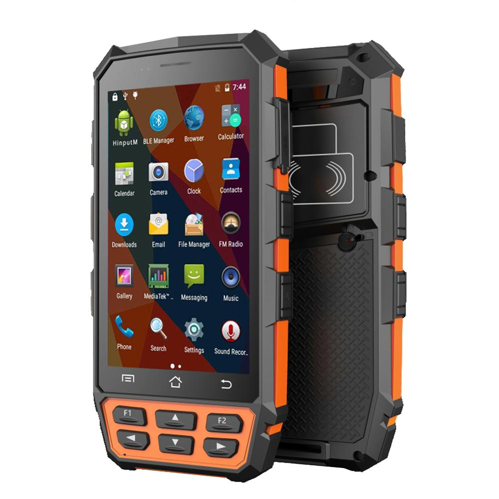 IP65 Rugged Mobile Handheld Frequency 125 KHz/134.2 kHz (FDX B/HDX) LF RFID Reader With Pistol Grip And Charging Station|Scanners| |  - title=