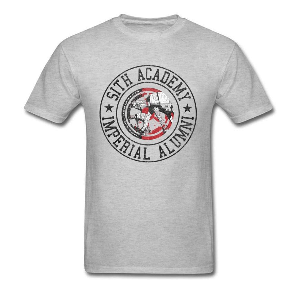 Lasting Charm Star Wars Sith Academy Sports T-shirt Men Grey T Shirt Gift Mens Vintage Comics Tshirt XXL