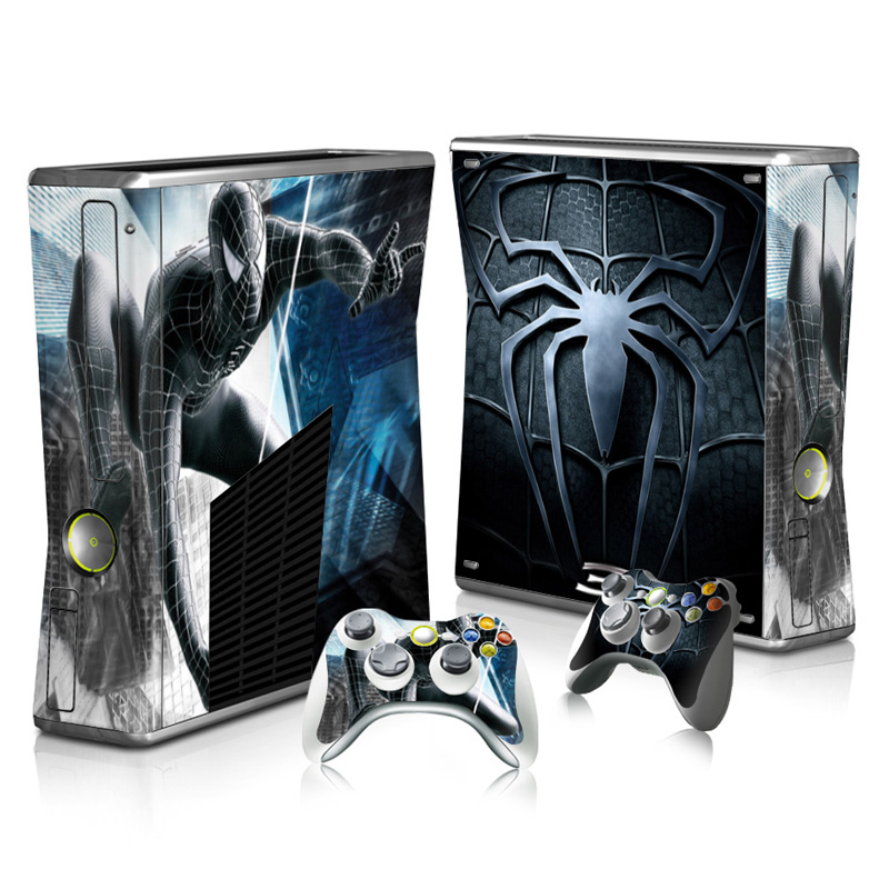ff2b3a7952 Adhesive waterproof OEM protective skin and vinyl material decal for Xbox  360 Slim -- batman spider  TN-XB360S-0110