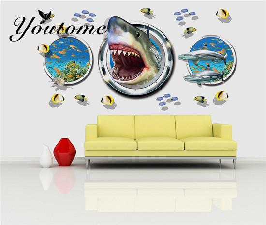 Nice Shark Wall Decor Image Collection - Wall Art Design ...