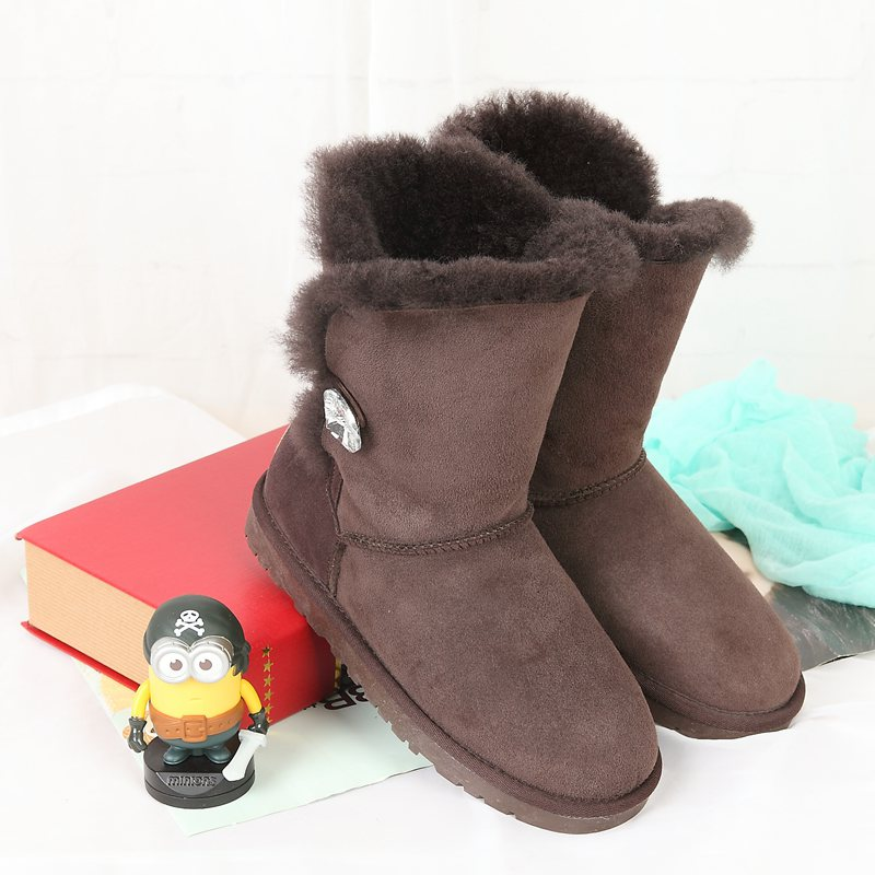 все цены на  Limited time discount 2017 new winter in Australia, a total of 100% pure natural sheepskin boots boots leather boots  онлайн