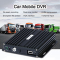 Realtime SD Card Auto Car Bus Mobile DVR 4CH Audio/Video Input Digital Video Recorder with Remote Controller Encrption