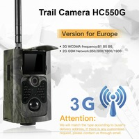 Trail Camera Hunting Game 3G MMS SMTP SMS Wildcamera Outdoor Night Vision Photo Traps Waterproof Scouting Camera HC550G