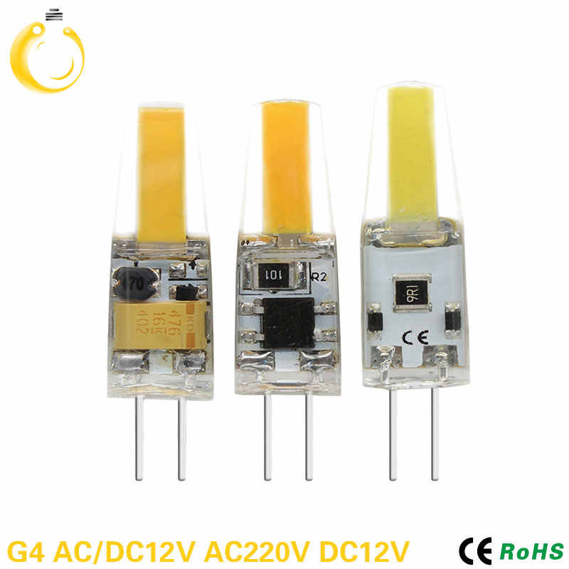 1PCS/Lot Lampada led 12V G4 G9 E14 220V 3W 6W 9W COB LED E14 Bulb G9 LED Lighting Lights replace Halogen Spotlight Chandelier