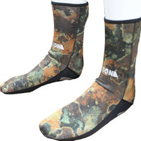 Free Shipping 3mm Neoprene Camo Diving Socks