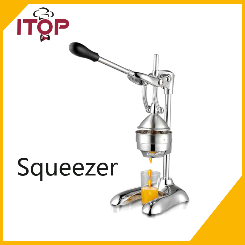ITOP Commercial Juice Press Citrus Juicer Manual Juicer Pomegranate Oranges Lemons Limes Grapefruits  Fast Easy And Clean glantop 2l smoothie blender fruit juice mixer juicer high performance pro commercial glthsg2029