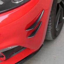 Для Subaru, автомобильные аксессуары, брелок для автомобиля Subaru WRX 7/8/9/10th лицевая сторона, устанавливаемое на вентиляционное отверстие в салоне автомобиля углеродное волокно переднего бампера плавники планки украшения
