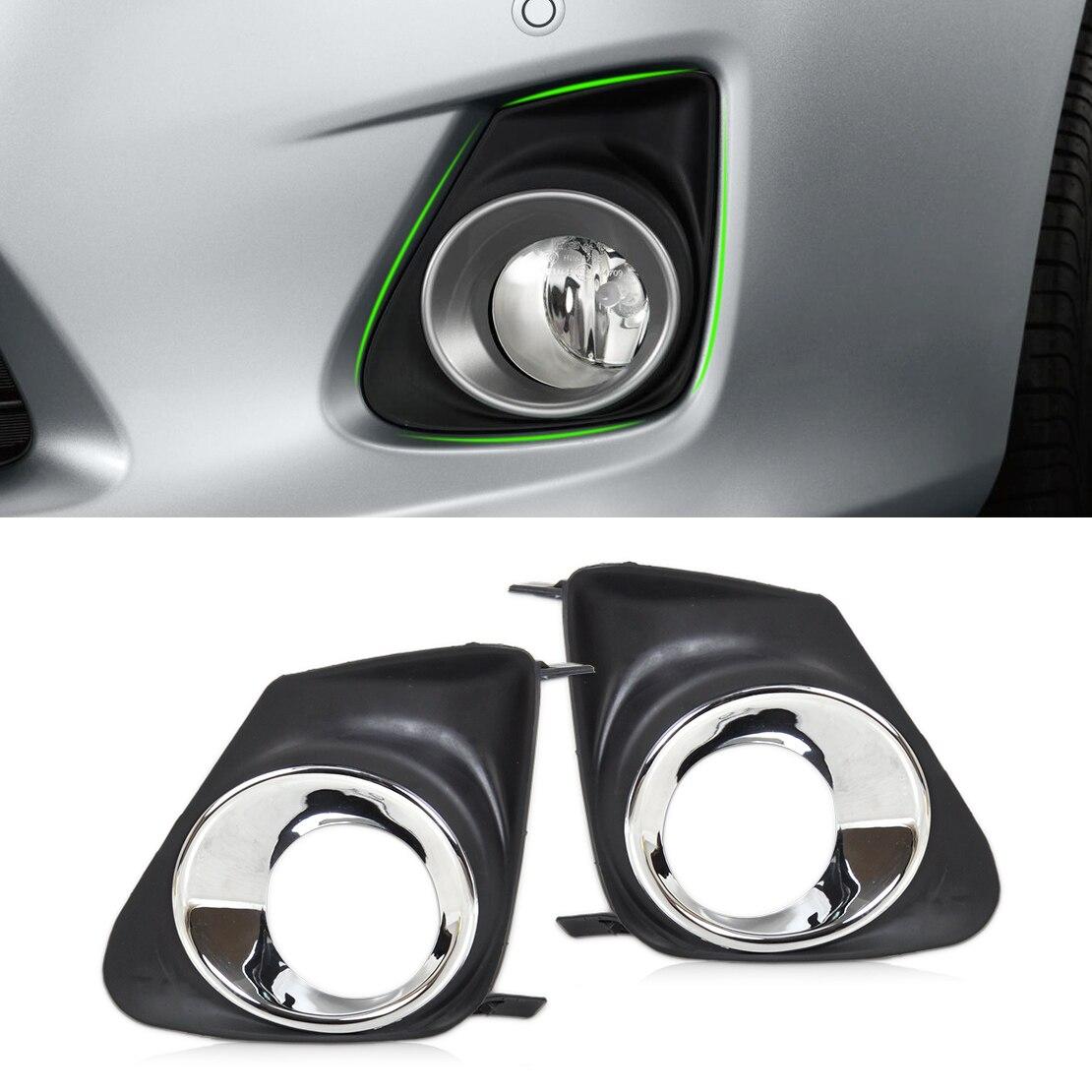 beler New High Performance 2pcs Front Right Left Bumper Fog Light font b Lamp b font