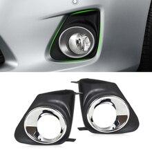 Beler новый высокопроизводительный 2 шт. передний правый + левый бампера Туман свет лампы Крышка решетка гриль для Toyota Corolla 2011 2012 2013
