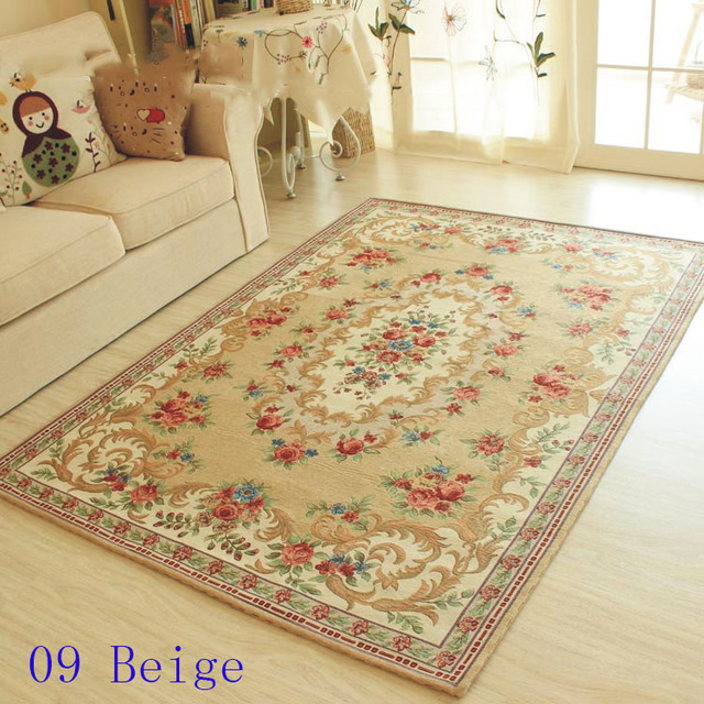Europe Style Salon Tapis, Romantique Table Basse Tapis, Accueil